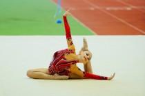Прошел кубок Губернатора Омской области по художественной гимнастике
