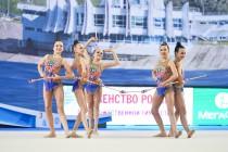 Первенство России по групповым упражнениям 2017