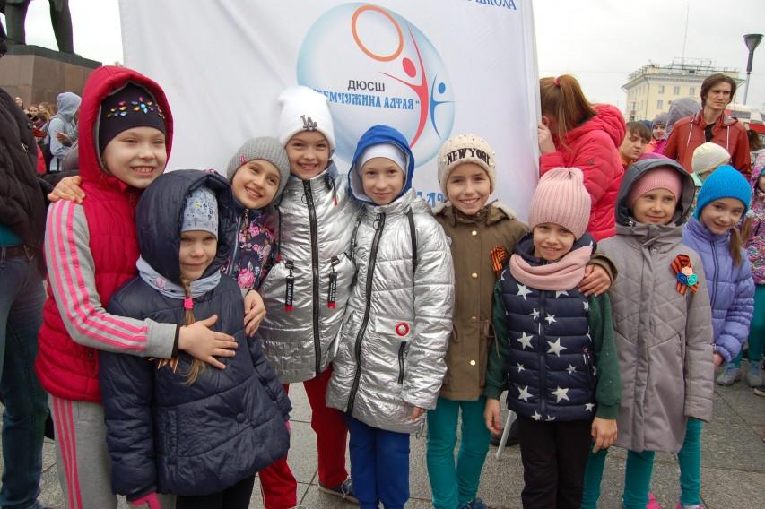 Воспитанники школы приняли участие в пробеге «Кольцо-Победы-2018″.