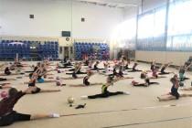 Тренеры провели семинар «мастер-класс» по художественной гимнастике.