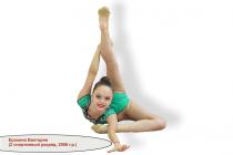 Ерохина Виктория (2 спортивный разряд, 2008 г.р.)