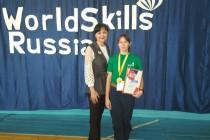 Валерия Василищева – победитель WORDSKILLS RUSSIA 2020!