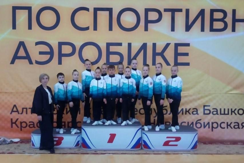 Соревнования по спортивной аэробике в г.Томске